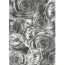 Pauzovací papír  A4 - růže grafit