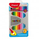 Pastelky Maped Color'Peps Metal Box 12 kusů