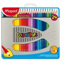 Pastelky Maped Color'Peps Metal Box 24 kusů
