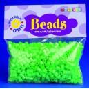 Zažehlovací korálky - zelené