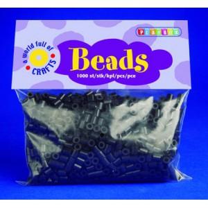 Zažehlovací korálky - černé